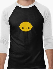 Cute lemon Men's Baseball ¾ T-Shirt