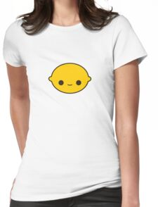 Cute lemon Womens Fitted T-Shirt