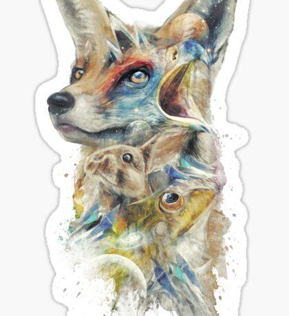 Heroes of Lylat Starfox Inspired Classy Geek Painting Sticker