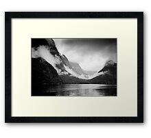 Fiordland, New Zealand. Framed Print