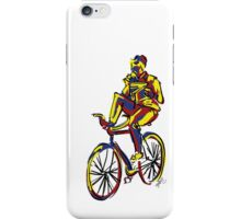 Breakfast on a Cycle! iPhone Case/Skin