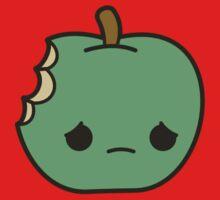 Cute sad apple One Piece - Short Sleeve