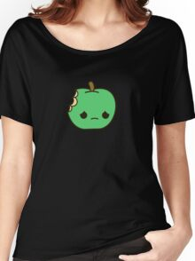 Cute sad apple Women's Relaxed Fit T-Shirt