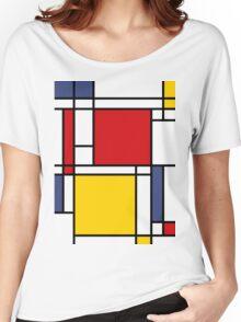 Mondrian Women's Relaxed Fit T-Shirt