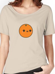 Cute orange Women's Relaxed Fit T-Shirt