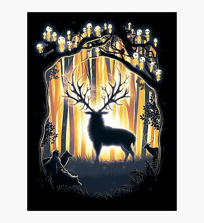 Deer God Master of the Forest Photographic Print