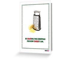 Cheesy Christmas Greeting Card
