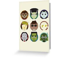 Little Monsters Greeting Card