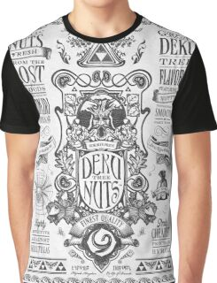 Legend of Zelda Deku Nuts Vintage Advertisement Graphic T-Shirt