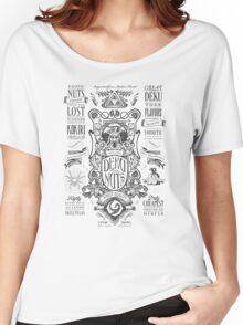 Legend of Zelda Deku Nuts Vintage Advertisement Women's Relaxed Fit T-Shirt