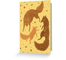 Wolf Pack Greeting Card