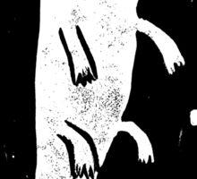 Axolotl Print Sticker