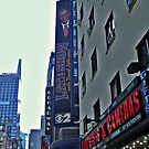 Ed Sullivan Theatre, The Late Show Sign, Broadway NYC by Jane Neill-Hancock