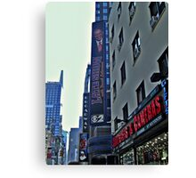 Ed Sullivan Theatre, The Late Show Sign, Broadway NYC Canvas Print