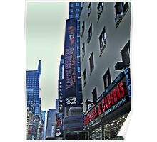Ed Sullivan Theatre, The Late Show Sign, Broadway NYC Poster