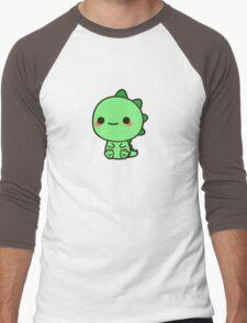 Kawaii Dinosaur Men's Baseball ¾ T-Shirt