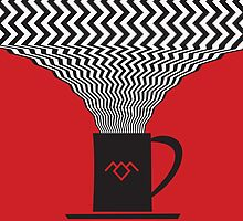 Twin Peaks - Damn Good Coffee by Sauls Creative