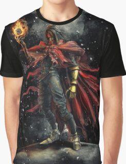 Epic Vincent Valentine Portrait Graphic T-Shirt