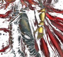 Epic Vincent Valentine Portrait Sticker