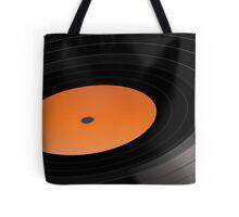 Vinyl Record Player LP Long Play Gramophone Turntable  Tote Bag