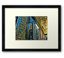The Colors of Broadway Framed Print