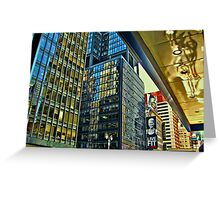 The Colors of Broadway Greeting Card