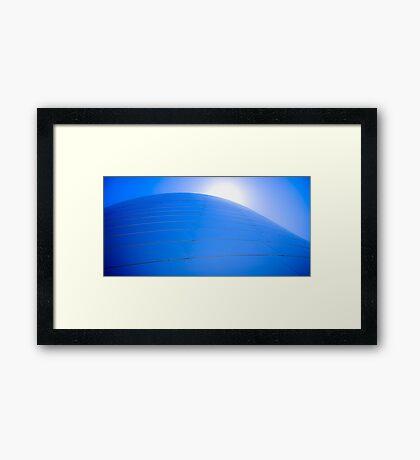 Disney Blue Framed Print