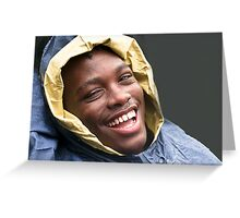 Big smile Greeting Card