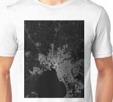 Melbourne map Australia Unisex T-Shirt