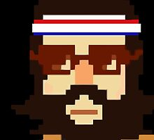 First Hipster - Awesome 8 bit design by MagicRoundabout