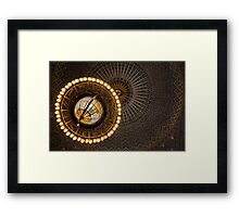 Globe Light Framed Print