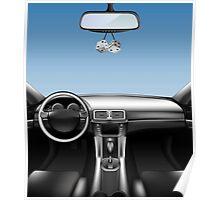 Car Auto Dashboard Poster