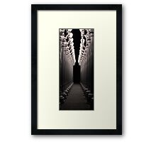 Light Way Framed Print