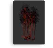 A Crimson Retaliation Canvas Print
