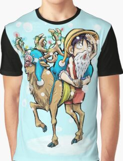A One Piece Holiday Graphic T-Shirt