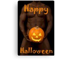 18027 Happy Halloween Canvas Print