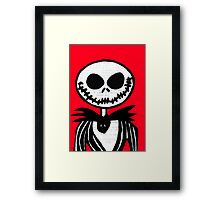 Jack on Red  Framed Print