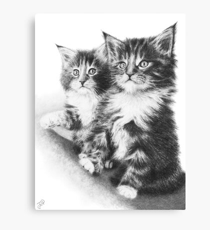 Double Dose of Cuteness Canvas Print