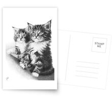 Double Dose of Cuteness Postcards