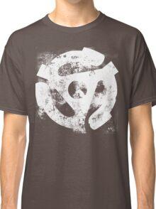 45 RPM Adaptor Distressed Art Classic T-Shirt