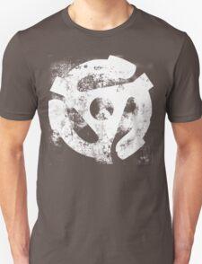 45 RPM Adaptor Distressed Art Unisex T-Shirt