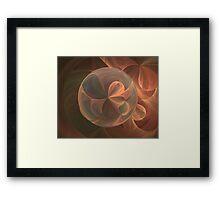 Loonie Ribbon Ball Framed Print