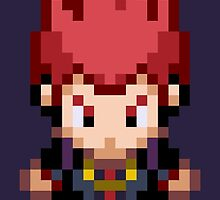 Lance Overworld Sprite: HGSS by fourfourfour