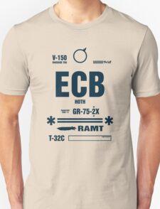 Rebel Echo Base ECB, Hoth Luggage Tag Unisex T-Shirt