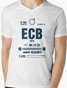 Rebel Echo Base ECB, Hoth Luggage Tag Mens V-Neck T-Shirt