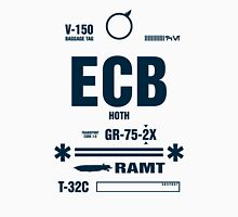 Rebel Echo Base ECB, Hoth Luggage Tag Unisex T-Shirt