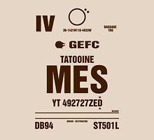 Mos Eisley, Tatootine Luggage Tag T-Shirt
