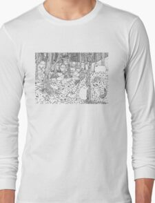 Diurnal Animals of the Forest Long Sleeve T-Shirt