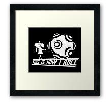 Katamari Damaci: This is how I Roll Framed Print