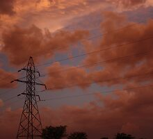 Stormy Night out back in Kansas by ROBERTDBROZEK